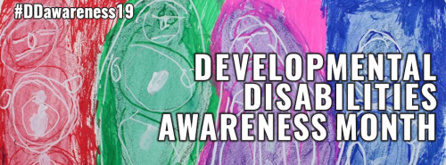Image result for developmental disabilities awareness month 2019
