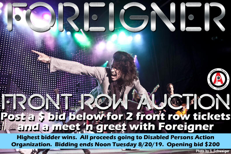 Foreigner Auction